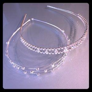 Rhinestone headbands for wedding or prom / formal